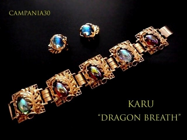 "BB15 - SET KARU ""DRAGON BREATH"" - LE COLLEZIONI  DI CAMPANIA30"