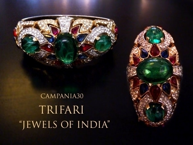 "BB64 - BRACCIALE TRIFARI ""JEWELS OF INDIA"" - LE COLLEZIONI  DI CAMPANIA30"